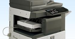 sharp printer finisher built-in