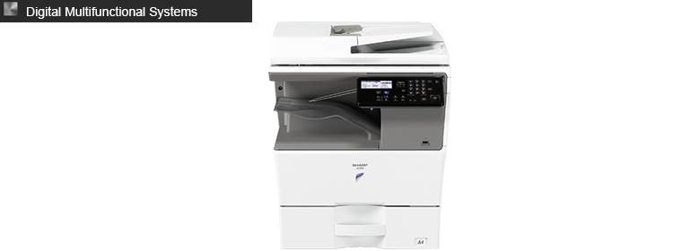 sharp copeir black white mono mfp
